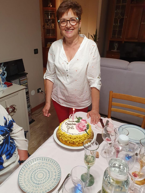Compleanno solidale Giuliana
